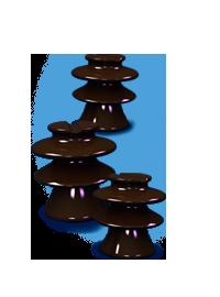 Изоляторы штыревые фарфоровые